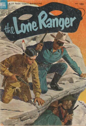 1953 Dell TV comic, Lone Ranger #59