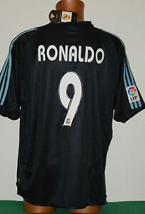 shirt ronaldo real madrid 2003 2004 camiseta SIEMENS mobile XL tags new away vtg - Roma, Italia - shirt ronaldo real madrid 2003 2004 camiseta SIEMENS mobile XL tags new away vtg - Roma, Italia