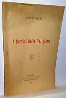 Silla Oberto I Nemici Della Religione Milano 1901 -  - ebay.it