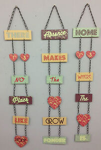 CHIC-HANGING-METAL-SIGNS-VINTAGE-RETRO-WALL-PLAQUE-HOME