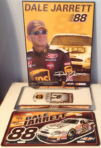 NASCAR DALE JARRETT #88 PHOTO LICENSE PLATE LIGHTSWITCH COVER