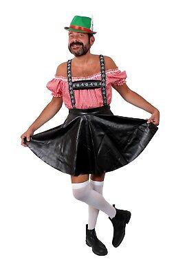 Oktober Fest Dress (MENS BAVARIAN STAG NIGHT OKTOBER FEST COSTUMES FUNNY FANCY DRESS GREEN)