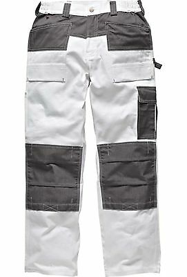 Dickies Work Trouser 100/% Cotton Kneed Pad Pockets Olive WD4930 CLEARANCE PRICE