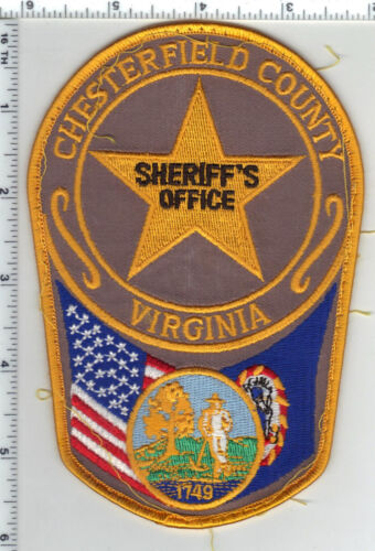Chesterfield County Sheriff (Virginia) Uniform Take-Off Large Shoulder Patch