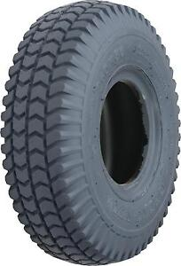 2 x New Mobility Scooter Tyres Blocked 260x85 - 3.00-4 - 300x4