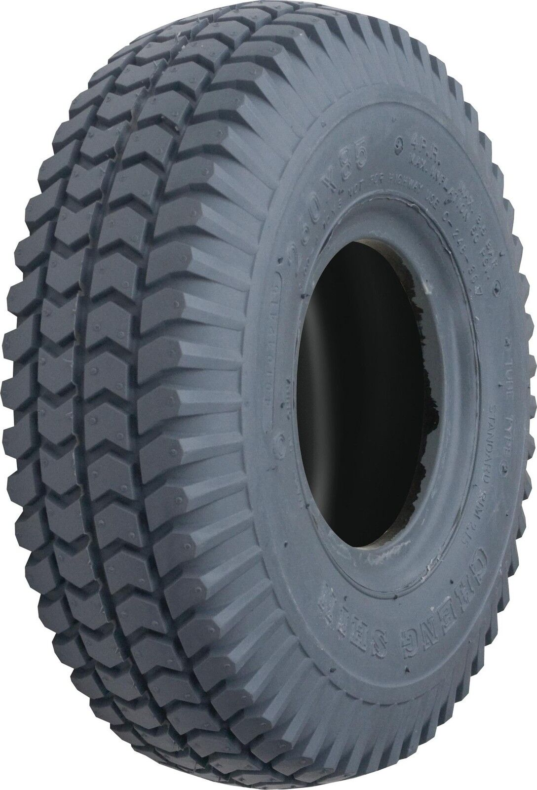 4 X Tyres 2x Blocked 2x Ribbed & 4 Tubes 260x85 - 3.00-4 - 300x4 Scooter