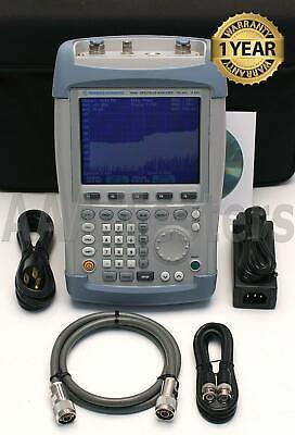 Rohde Schwarz Fsh6 Rs 6.26 Handheld Spectrum Analyzer W Tracking Gen Fsh 6ghz