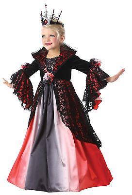 Valentina Vampir Kinder Kostüm Mittelalterlich Abendkleid Renaissance ()