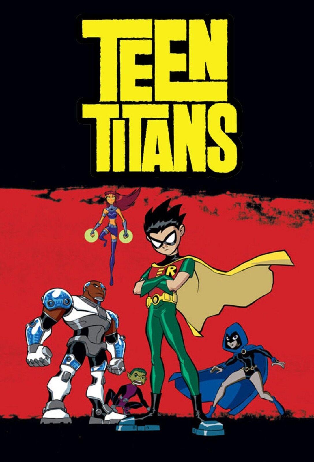 Teen Titans Complete Series Seasons 1 2 3 4 5 - DVD - ENGLISH