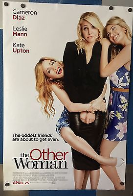 The Other Woman (2014) Theatre Movie Poster, Cameron Diaz Leslie Mann Kate Upton