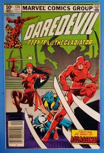 Daredevil #174 - 1st Team APP of The Hand - Marvel  1981