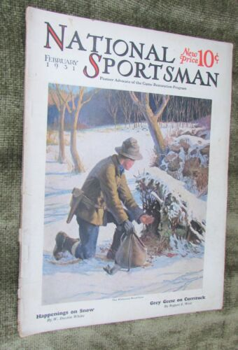 National Sportsman Magazine February 1931