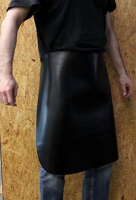 Echt Leder Schreinerschürze, Schmiedeschürze, 60x70cm Schutzschürze,Grillschürze