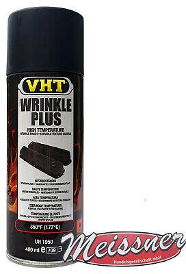 VHT GSP201 Kräusellack Schwarz Wrinkle Plus Schrumpflack Black 177°C Hitzelack