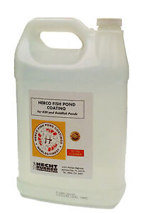 1 Gal Cleaner For Herco Fish Pond Coating Ebay