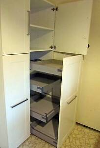 IKEA Rationell pantry units with soft close drawers Griffith South Canberra Preview