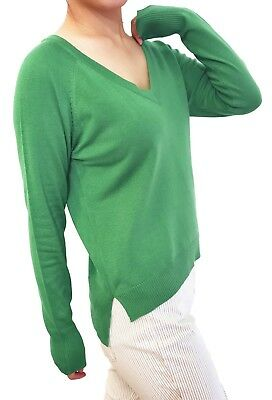 Women Pullover Sweater Top Jumper Soft Knit V Neck Fitted or Loose Cardigan  - Knit Cardigan Sweater Top