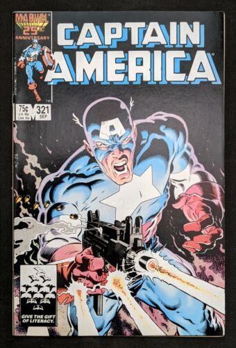 Captain America #321 1st Ultimatum (Flagsmasher) Falcon & Winter Soldier Marvel