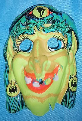 ** Vintage NOS Halloween Witch Mask **