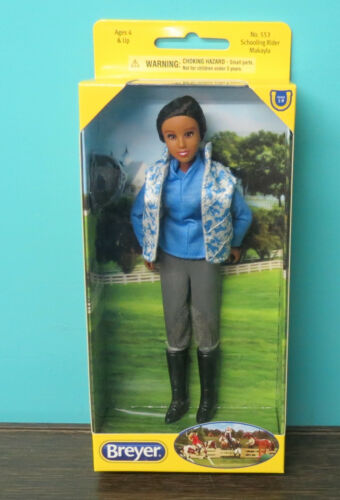Breyer Posable Traditional doll   #553 Makayl New in box