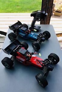 Two Lite Hawk Blast RC cars