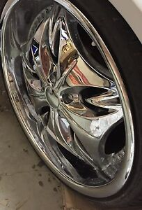 """Chrome 20"""" rims Capital Hill South Canberra Preview"""
