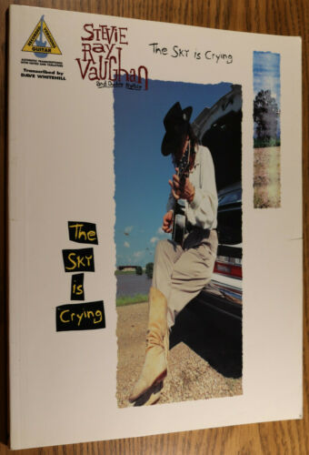 STEVIE RAY VAUGHAN The Sky is Crying - Songbook Sheet Music 78 pgs Guitar