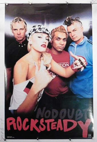 """No Doubt rocksteady Vintage Group Poster 22.25"""" X 34.50"""" NOS (b563)"""