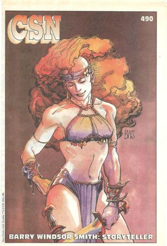 CSN Comic Shop News # 490 Adastra In Africa Storyteller Barry Windsor Smith 1991