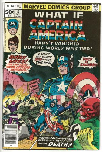 What If #5 Marvel Captain America