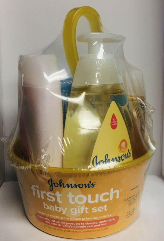 Brand New Johnson's First Touch Baby Gift Set