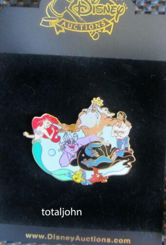 40441 Disney Auctions - New Classics The Little Mermaid Pin  LE 100