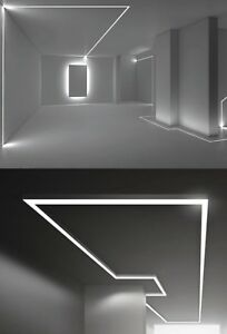 Linear lighting for residential and commercial