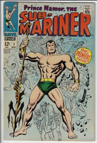 Prince Namor, The Sub-Mariner #1 (1968) Big Premiere Issue!