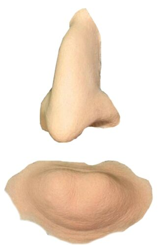 Witch Nose & Chin Foam Latex Prosthetic