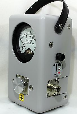 Bird Model 43P Peak/Avg Thruline(c) RF Wattmeter NEW 4300-400 PEP Installed!