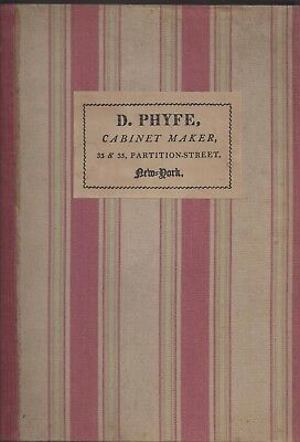 Used, Duncan phyfe & the English regency cabinet maker 1930 slipcase hc oversize for sale  Shipping to Nigeria