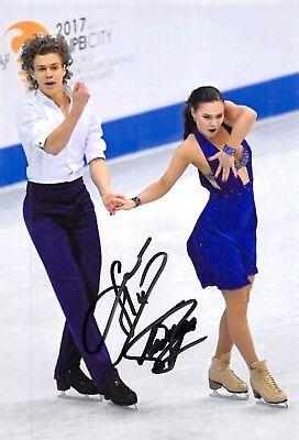 Alla LOBODA / Pavel DROZD - RUS - Eiskunstlauf - Foto signiert (1)