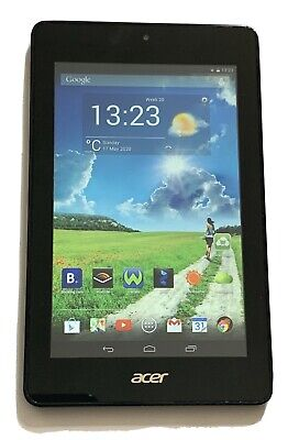 Acer Iconia One 7 Inch Tablet Black (B1-730HD) Wifi