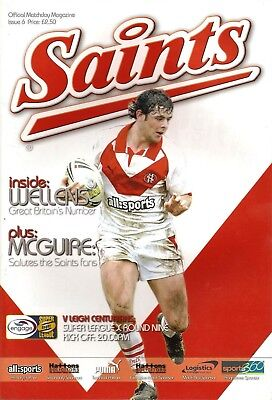 St Helens v Leigh - Super League 2005