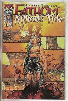 Image Comics Fathom Killians Tide #1 April 2001 Gold Variant Top Cow NM