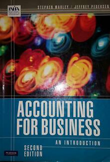 Accounting for Business an Introduction Wynnum West Brisbane South East Preview