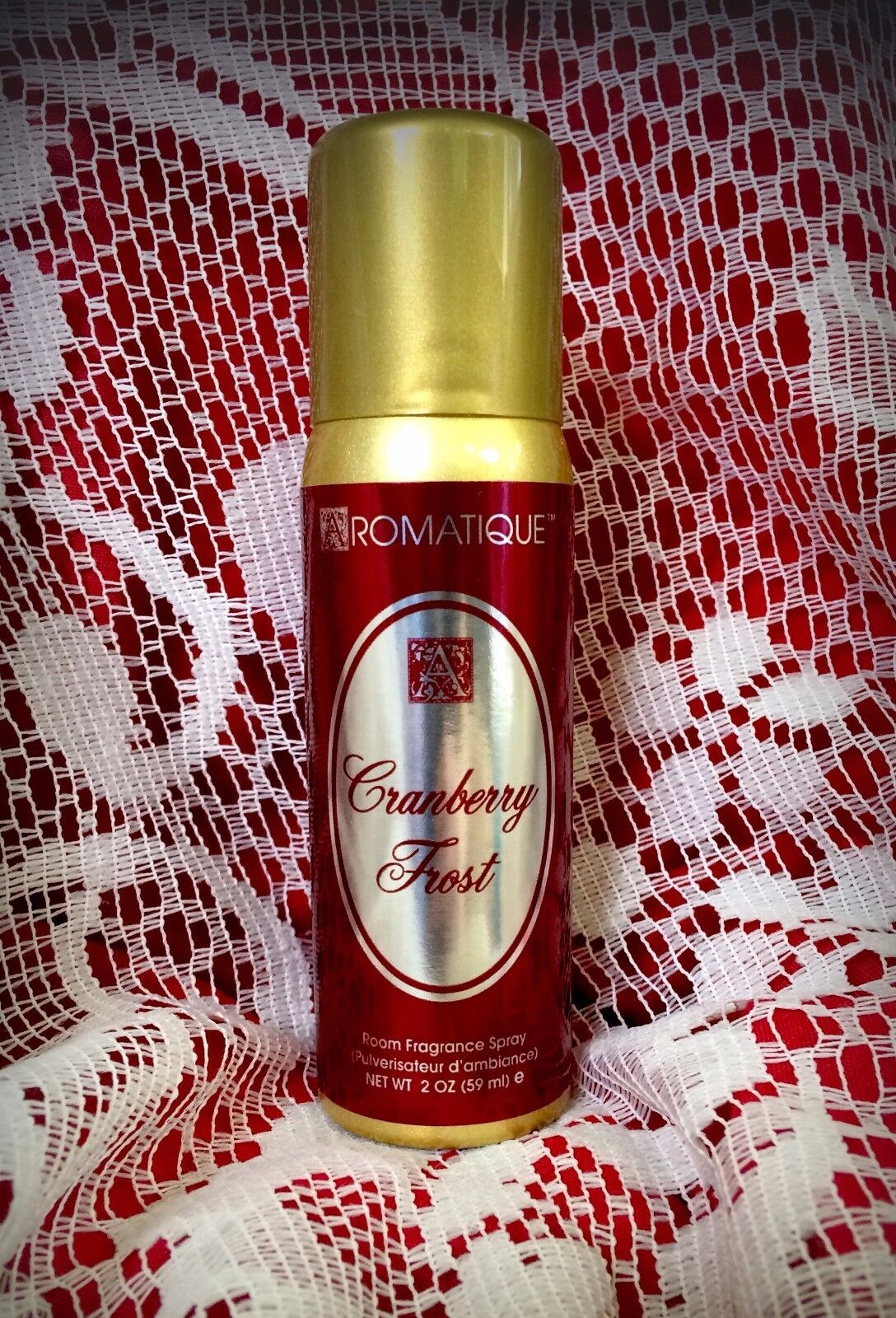 Aromatique Cranberry Frost 2 oz Room Fragrance Spray FREE SH