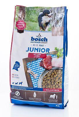 15 kg BOSCH Junior Lamm & Reis Hundefutter Welpen