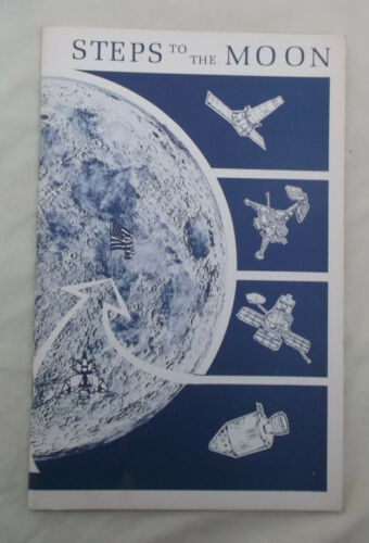 Vintage 1970 STEPS TO THE MOON-US Dept of Interior Geo Survey booklet