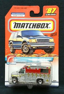Matchbox Ford Ambulance #87