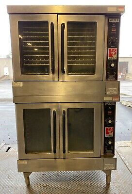 Wolf Wkgd Double Stack Natural Gas Convection Oven W 10 Oven Racks Works Great