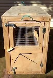 DOG CRATES x 2 - AIRLINE APPROVED East Cannington Canning Area Preview