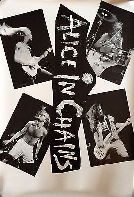 Alice In Chains Facelift (band shot) ULTRA RARE promo poster '90