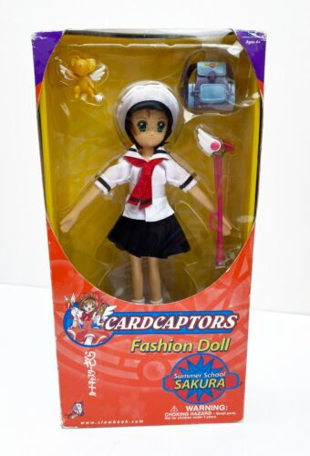 Sailor Moon Cardcaptors Fashion Doll Summer School Sakura Uniform (NIB)
